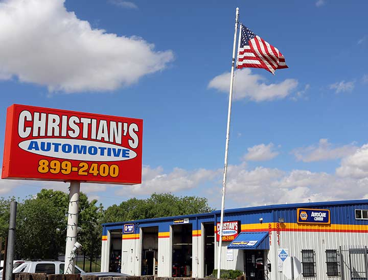 Christian's Automotive Experience is the first benefit