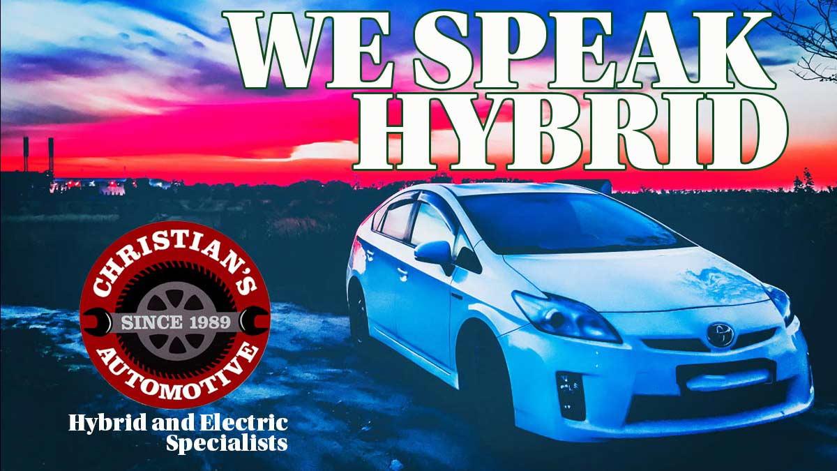 Christian's Automotive - Hybrid and EV Specialists