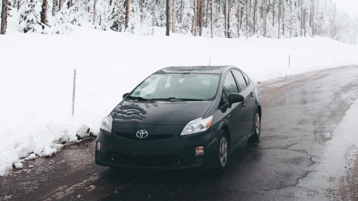 Prius on road - hybrids require maintenance