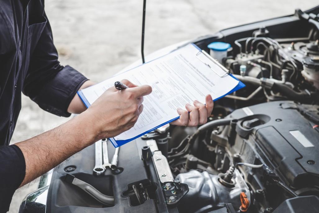 Automotive maintenance check list